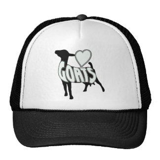 I LOVE GOATS LOGO ICON CAP