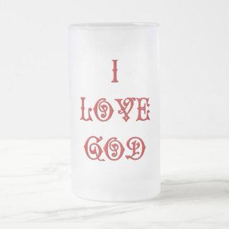 I love God Coffee Mug