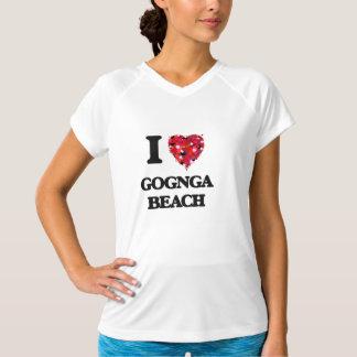 I love Gognga Beach Guam Tshirt
