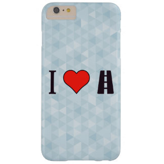 I Love Going Away Barely There iPhone 6 Plus Case