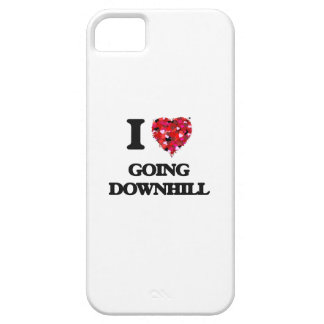 I Love Going Downhill iPhone 5 Cover
