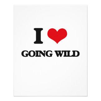 I love Going Wild Full Color Flyer