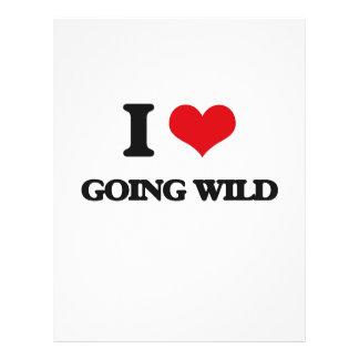 I love Going Wild Flyer Design