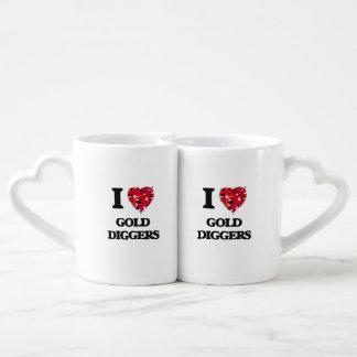 I Love Gold Diggers Lovers Mug
