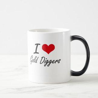 I love Gold Diggers Morphing Mug