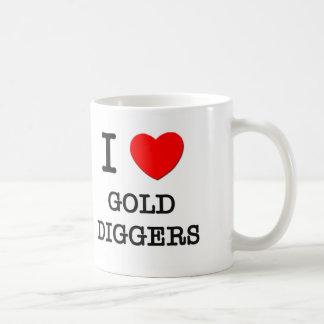I Love Gold Diggers Mug
