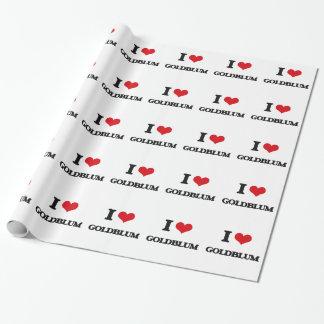 I Love Goldblum Wrapping Paper
