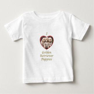 I love Golden Retriever Puppies Tshirts