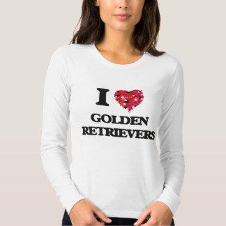 I love Golden Retrievers T-shirt