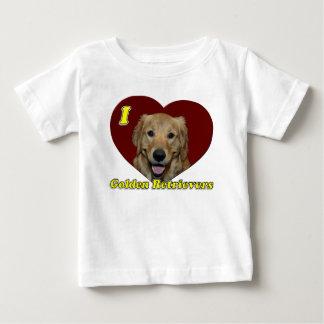 I love Golden Retrievers Tee Shirts