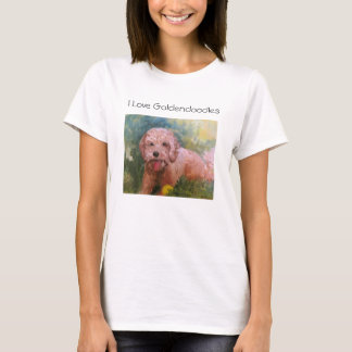 I love Goldendoodles T shirt
