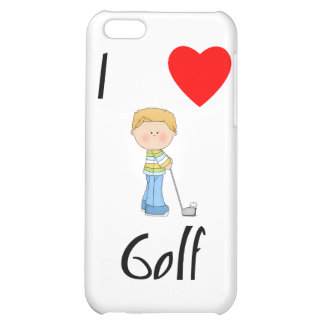 I Love Golf (2) Cover For iPhone 5C