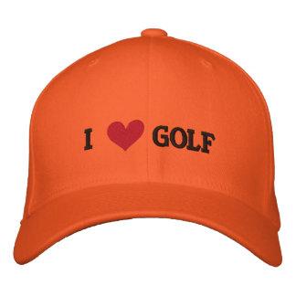 'I LOVE GOLF' BASEBALL CAP