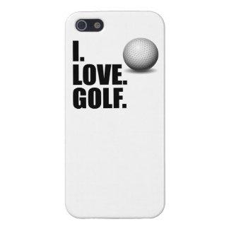 I Love Golf iPhone 5 Cover