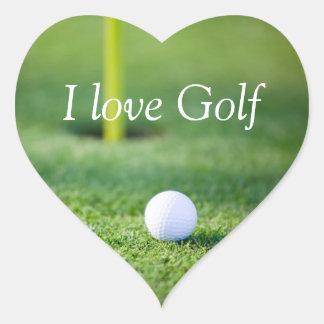 I love golf sticker