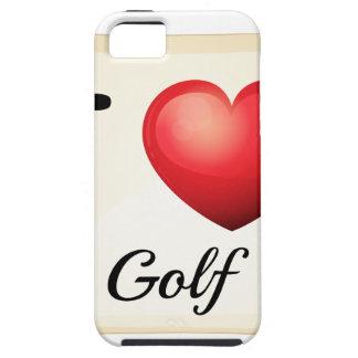 I love golf tough iPhone 5 case