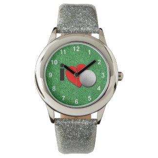 I Love Golf Wristwatches