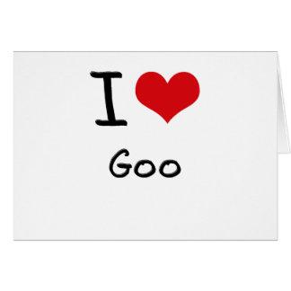 I Love Goo Cards