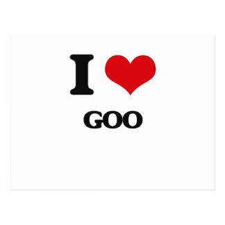 I love Goo Postcard