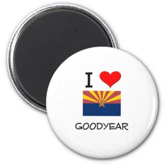 I Love GOODYEAR Arizona 6 Cm Round Magnet