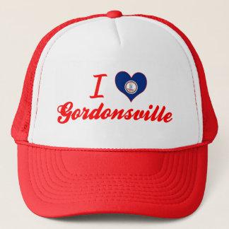 I Love Gordonsville, Virginia Trucker Hat