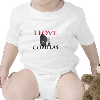 I Love Gorillas Tshirts
