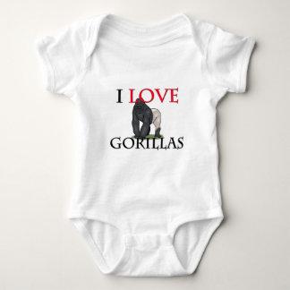 I Love Gorillas Tees