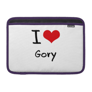 I Love Gory Sleeve For MacBook Air
