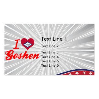 I Love Goshen Arkansas Business Card