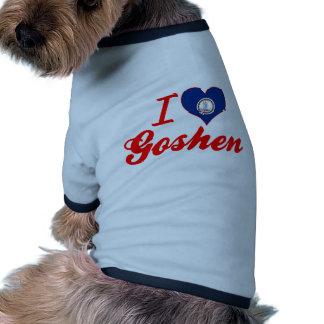 I Love Goshen, Virginia Dog T-shirt