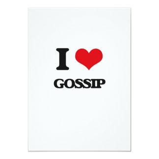 I love Gossip 13 Cm X 18 Cm Invitation Card