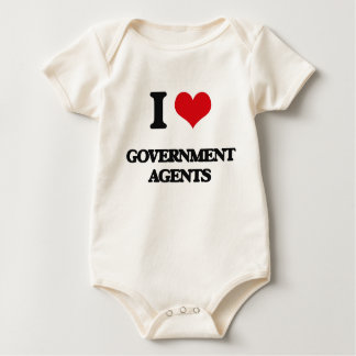 I love Government Agents Rompers