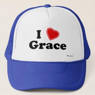 I Love Grace Trucker Hat