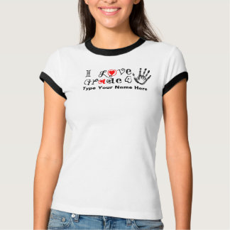 I Love Grade _ / Teachers Touch Tomorrow Today T-Shirt