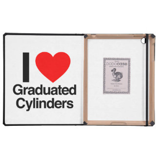 i love graduated cylinders case for iPad