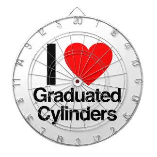 i love graduated cylinders dartboards