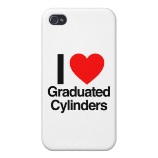 i love graduated cylinders iPhone 4 covers
