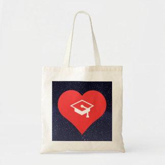 I Love Graduation Dinners Design Budget Tote Bag
