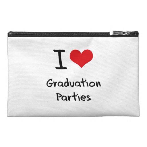 I Love Graduation Parties Travel Accessories Bags