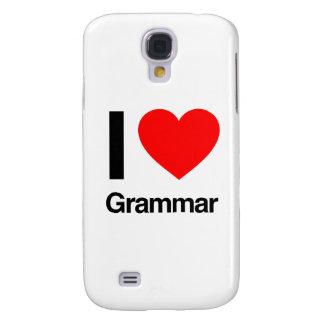 i love grammar galaxy s4 case