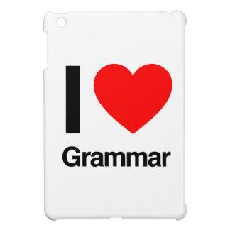 i love grammar iPad mini case