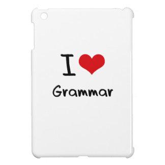 I Love Grammar iPad Mini Cases