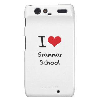 I Love Grammar School Droid RAZR Case