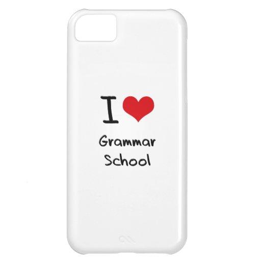 I Love Grammar School iPhone 5C Case