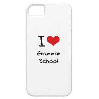 I Love Grammar School iPhone 5 Cover