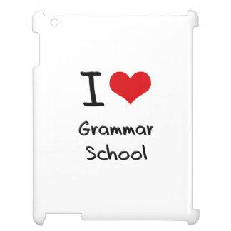 I Love Grammar School iPad Cover