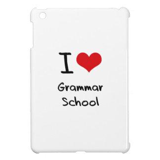 I Love Grammar School iPad Mini Cover