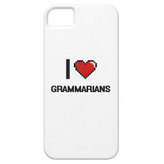 I love Grammarians iPhone 5 Cover
