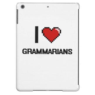 I love Grammarians iPad Air Covers