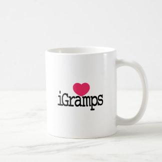 I Love Gramps Basic White Mug